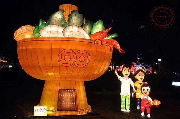 17 2014中臺灣元宵燈會香港花燈.JPG
