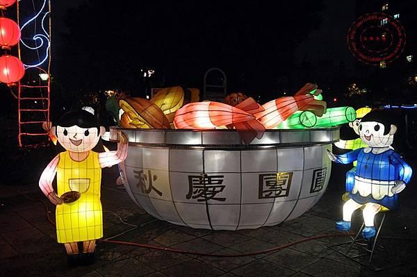 18 2014中臺灣元宵燈會香港花燈.JPG
