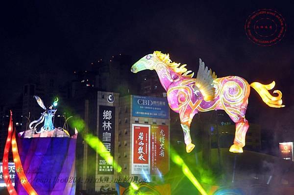 38 2014中臺灣元宵燈會主燈飛馬獻瑞.JPG