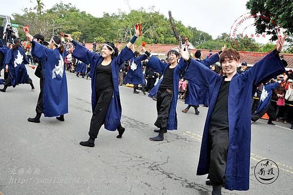 29 2014台灣燈會踩街遊行日本北海道-YOSAKOI SORAN 北海道學生合同「北人」.JPG