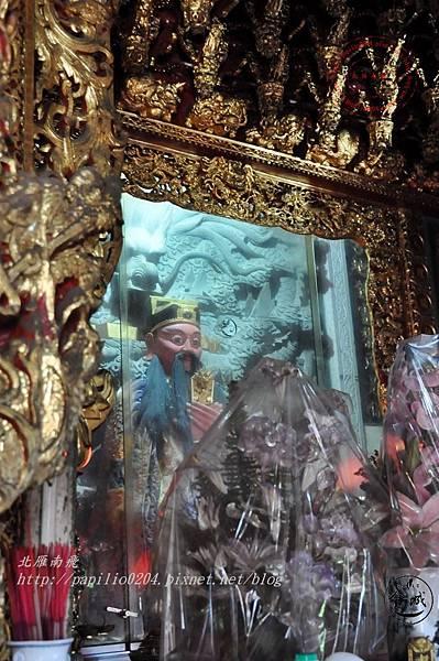 06金門城古地城隍廟城隍爺神尊.JPG