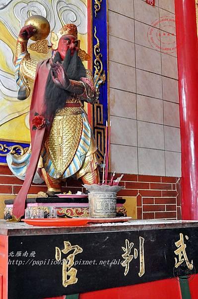 08金門城古地城隍廟武判官.JPG