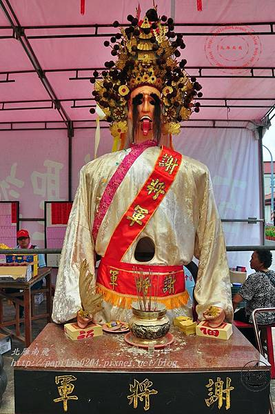 27金門城古地城隍廟軟身謝將軍.JPG
