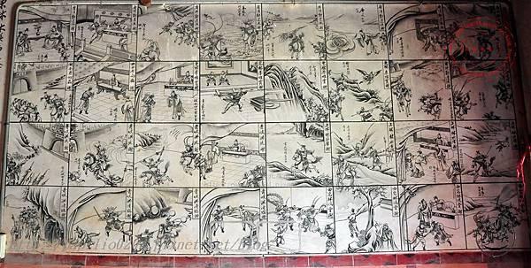 23保障宮左側牆面壁畫-薛仁貴征東.JPG