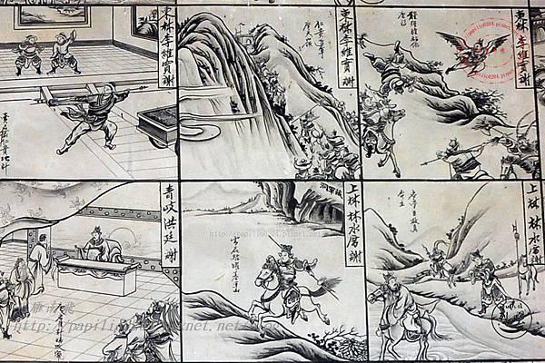 24保障宮左側牆面壁畫-薛仁貴征東.JPG