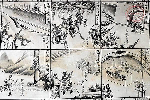 28保障宮右側牆面壁畫-薛仁貴征東.JPG