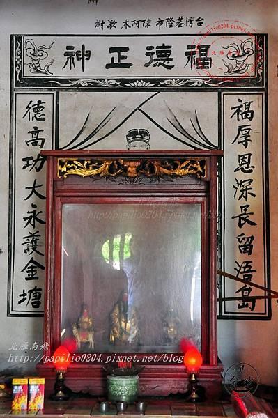 19金門塘頭金蓮寺正殿壁畫與神尊