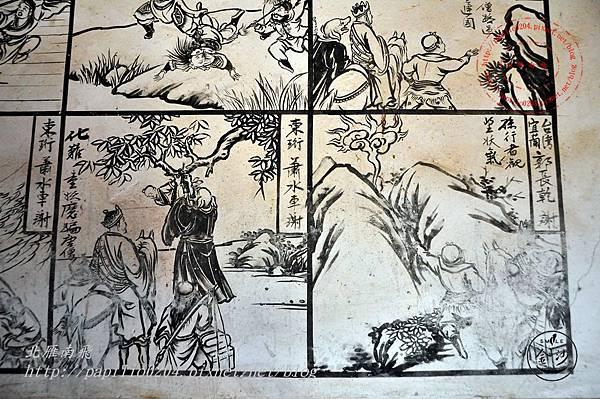 24金門塘頭金蓮寺左側壁畫-西遊記
