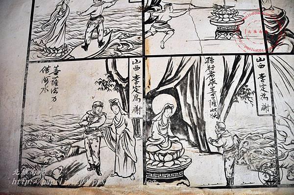27金門塘頭金蓮寺左側壁畫-西遊記