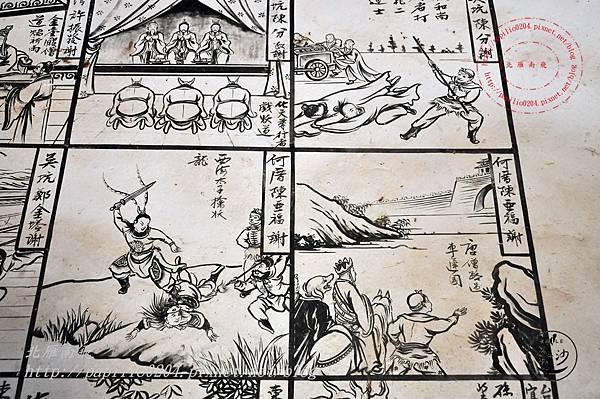 31金門塘頭金蓮寺左側壁畫-西遊記