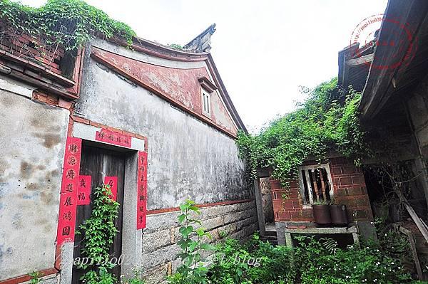 26金門沙美張氏古厝[歷史建築]三蓋廊側面.JPG