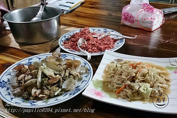56馬祖地方美食-炒魚麵 綜合海鮮 紅糟炒飯