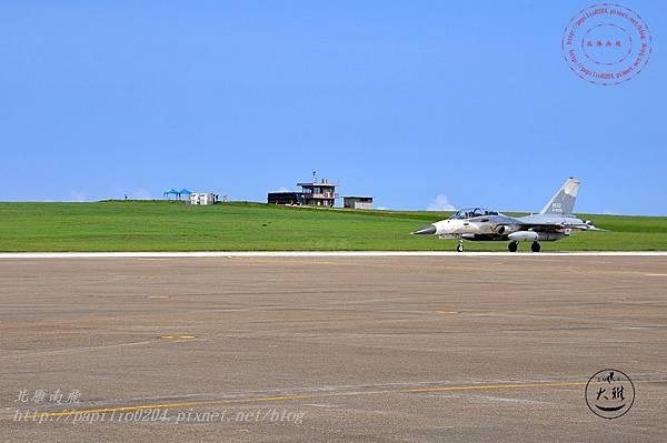 12 20140719清泉崗空軍基地營區開放-降落跑道的IDF戰機.JPG