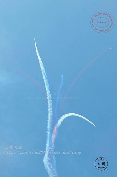 35 20140719清泉崗空軍基地營區開放-雷虎小組飛行表演.JPG