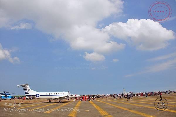 44 20140719清泉崗空軍基地營區開放-靜態展示BH-1900型人員運輸機.JPG