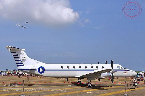 45 20140719清泉崗空軍基地營區開放-靜態展示BH-1900型人員運輸機.JPG
