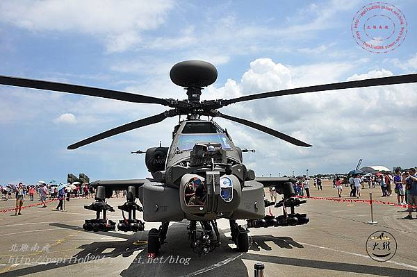57 20140719清泉崗空軍基地營區開放-靜態展示AH-64E阿帕契直升機.JPG