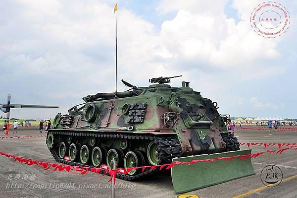63 20140719清泉崗空軍基地營區開放-靜態展示M88A1裝甲救濟車.JPG