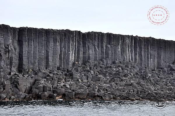 22西吉嶼的柱狀玄武岩