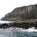 25西吉嶼的柱狀玄武岩