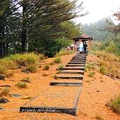 大雪山森林遊樂區天池瑞雪亭