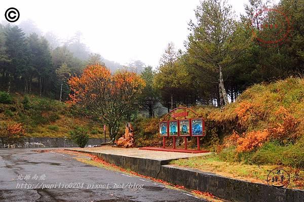 大雪山森林遊樂區小雪山停車場