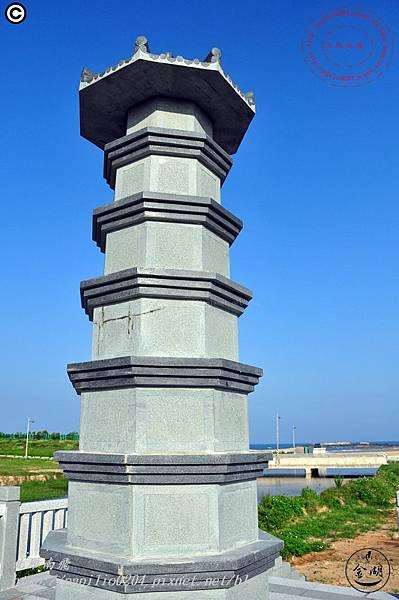金門下湖水尾塔