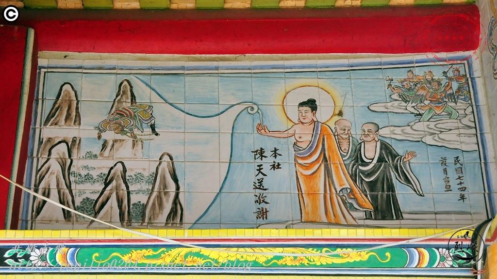 金門烈嶼西方釋迦佛祖玄天上帝宮彩繪壁畫