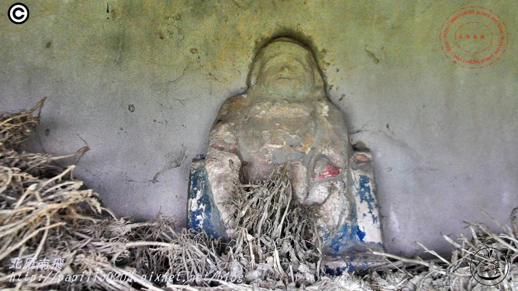 安岐民防坑道北端出口偽裝寺廟
