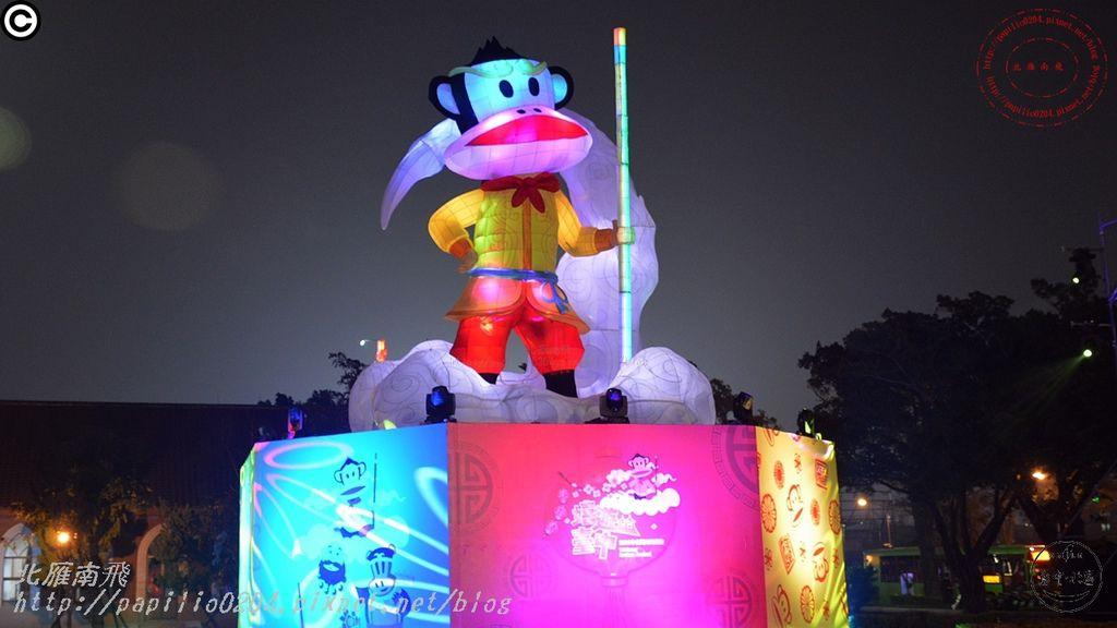 鴻福齊天‧大聖台中-2016中台灣元宵燈會台中公園燈區