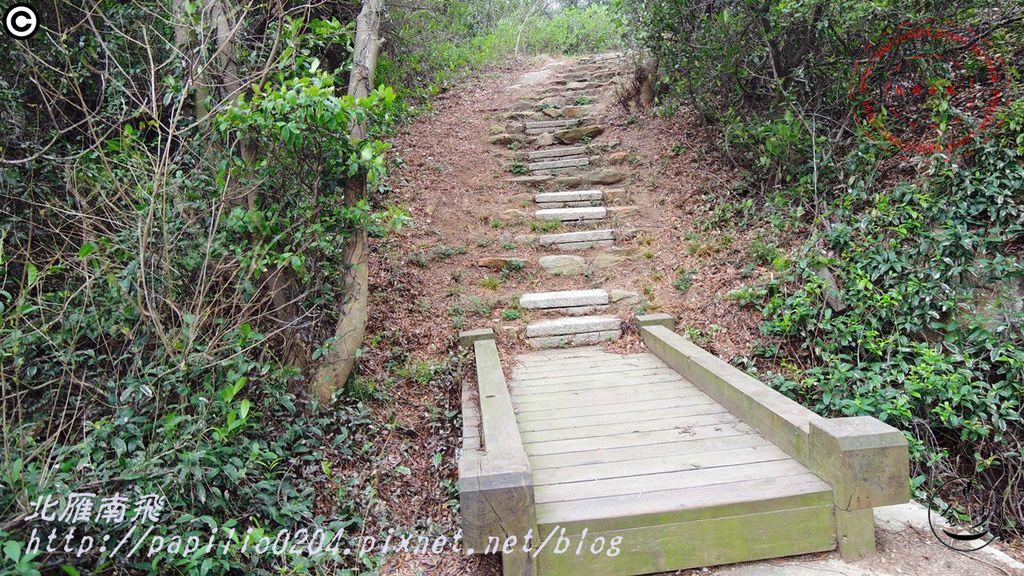 五虎山登山步道山后聚落段