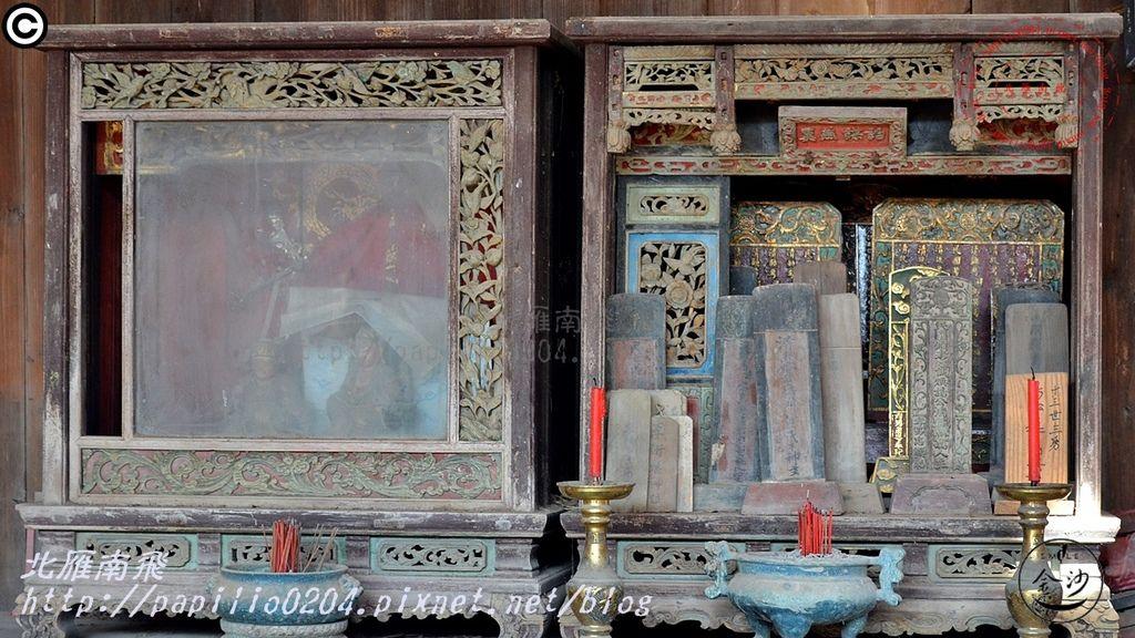 13藏興古厝正廳神龕與祖先龕.JPG