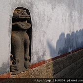 瓊林鑲壁風獅爺