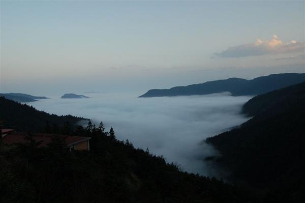 太平山雲海