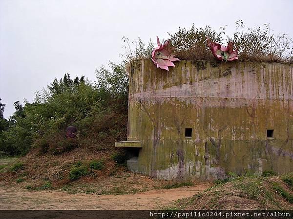 林厝砲陣地(2004金門碉堡藝術節)