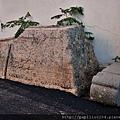金門古城國小側門無名碑座