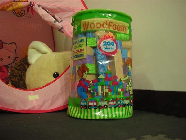 WOODFOAM建構式海綿積木