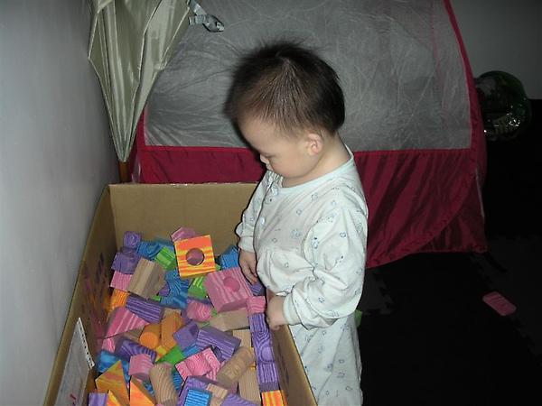 遊戲結束學著收拾玩具