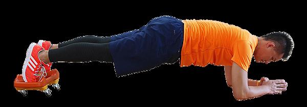 15 平衡鈴滑盤俯臥屈體  Parabell Prone Jackknife-2