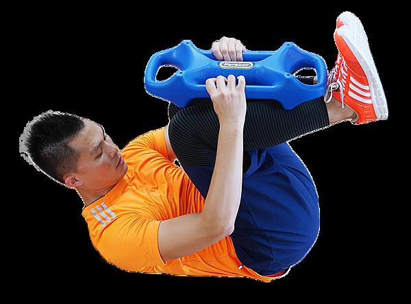 20 三頭肌捲腹 Parabell Triceps Crunch-2