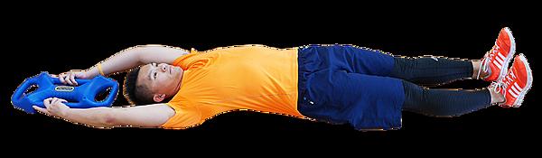 20 三頭肌捲腹 Parabell Triceps Crunch-3