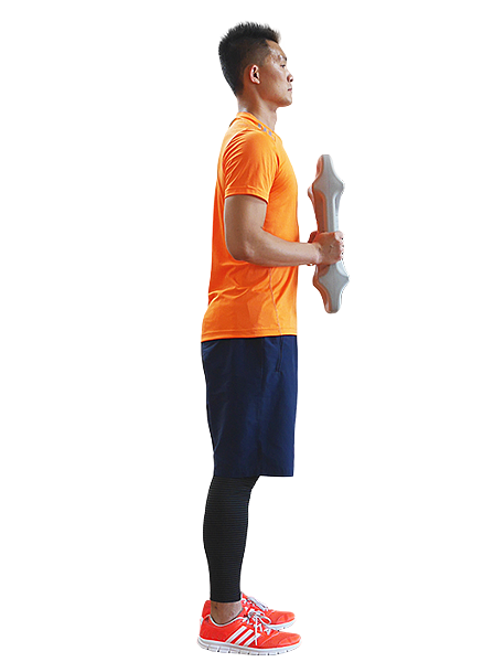 26 立姿前彎平衡 Standing Forward Bend Pose 平衡鈴Parabell-2