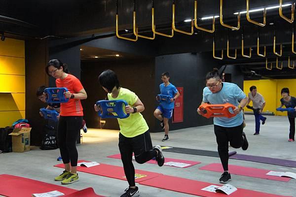 Parabell平衡鈴維持關鍵跑姿訓練