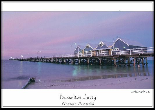 Busselton Jetty (photo by Alex Bond)