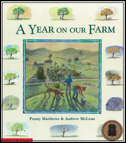 【A YEAR ON OUR FARM】封面