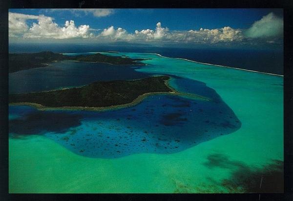 Earth From Above - #5 Bora Bora, Polynesia