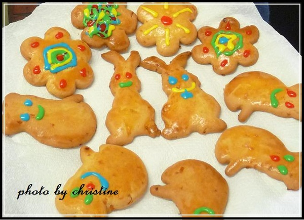 Cookie Time~ Christine做ㄉ手工餅乾啦~