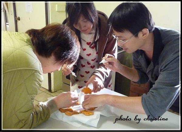 Christine做ㄉ手工餅乾~ 請大家幫忙裝飾一下餅乾喔~