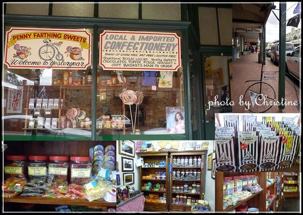 YORK 鎮上的 Penny 糖果店
