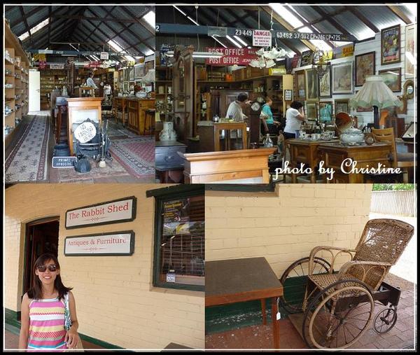 YORK 鎮上的古董家具店